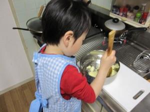 子供 お菓子作り