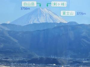 愛宕山からの富士山