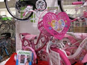 プリキュアの自転車