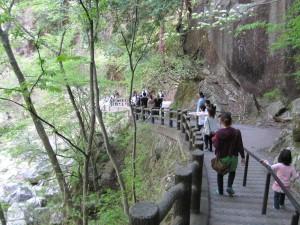 仙娥滝入口