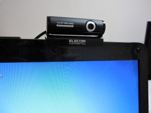 webカメラの設置