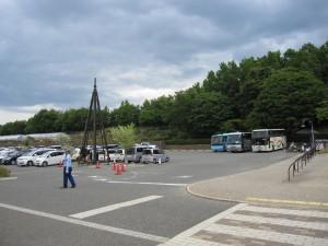 ハイジの村駐車場
