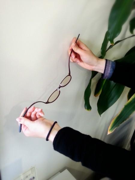ウルティム素材のサングラスフレーム
